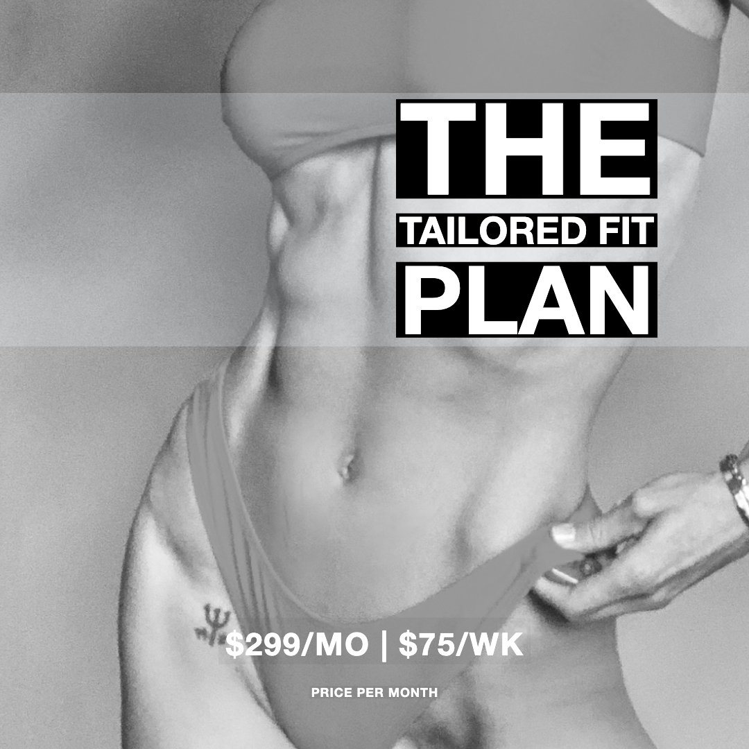 THE TAILORED FIT WORKOUT PLAN Bossfit Online Personal Fitness Training Ashley Wingate Plan 3