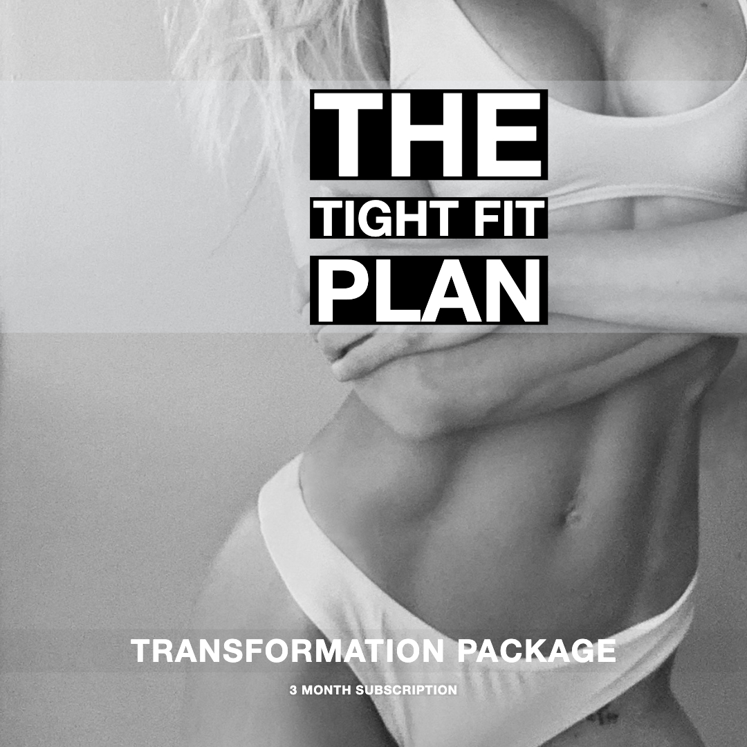 THE TIGHT FIT WORKOUT PLAN Bossfit Online Personal Fitness Training Ashley Wingate Plan 2 Transformation Package