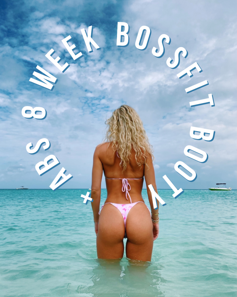 Bossfit Booty & Abs Workout Plan Ashley Wingate Fitness