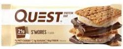 Quest smores bar 3 High Protein Snack & Supplement List Bossfit Customized Online Workout Plans by Ashley Wingate Personal Fitness Trainer
